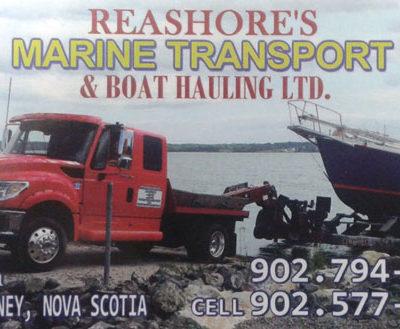 Reashore's Marine Trucking