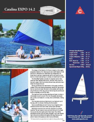 Catalina 14.2 - Brochure