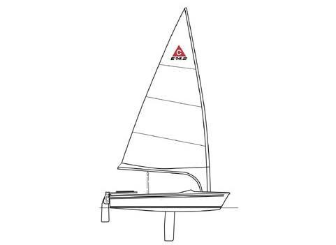 Catalina14.2 Sail Layout