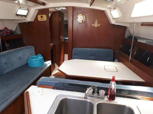 Hunter 34-Salon