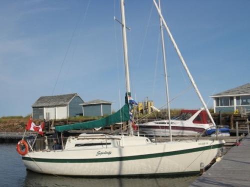Tanzer 26 - At Dock